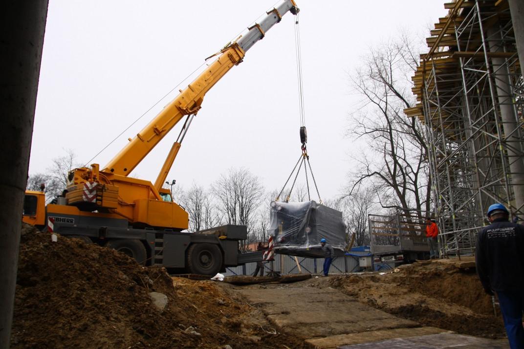 Transport ciężkich maszyn - Wujek Marek